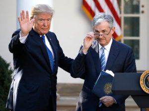Трамп и Пауэлл