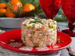 салат на праздник