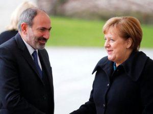 Пашинян и Меркель