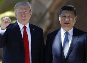 Трамп и Цзиньпин