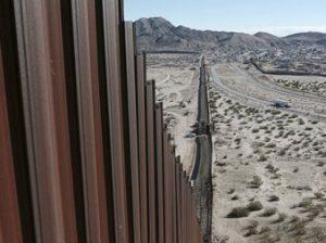 на границе