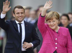Макрон и Меркель