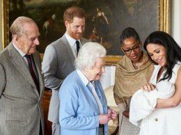 Королева и правнук