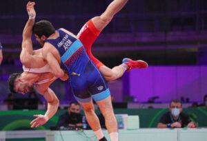Два армянских спортсмена поборются за золото международного борцовского турнира в Киеве