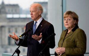 Байден обсудит с Меркель безопасность Украины в контексте СП-2