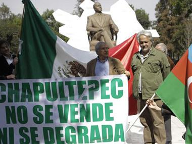 Мехико акция протеста