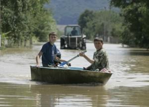 Наводнение Закарпатье