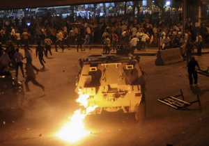 столкновения у Каирского университета