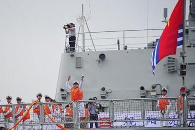 военные корабли Китая