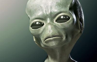 голова инопланетянина