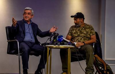Саргсян и Пашинян