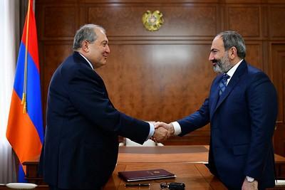 Саркисян и Пашинян